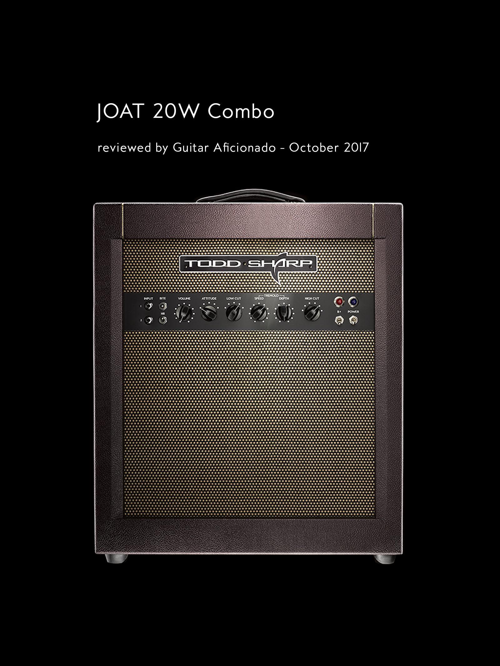 Guitar Aficionado reviews the JOAT 20W Combo
