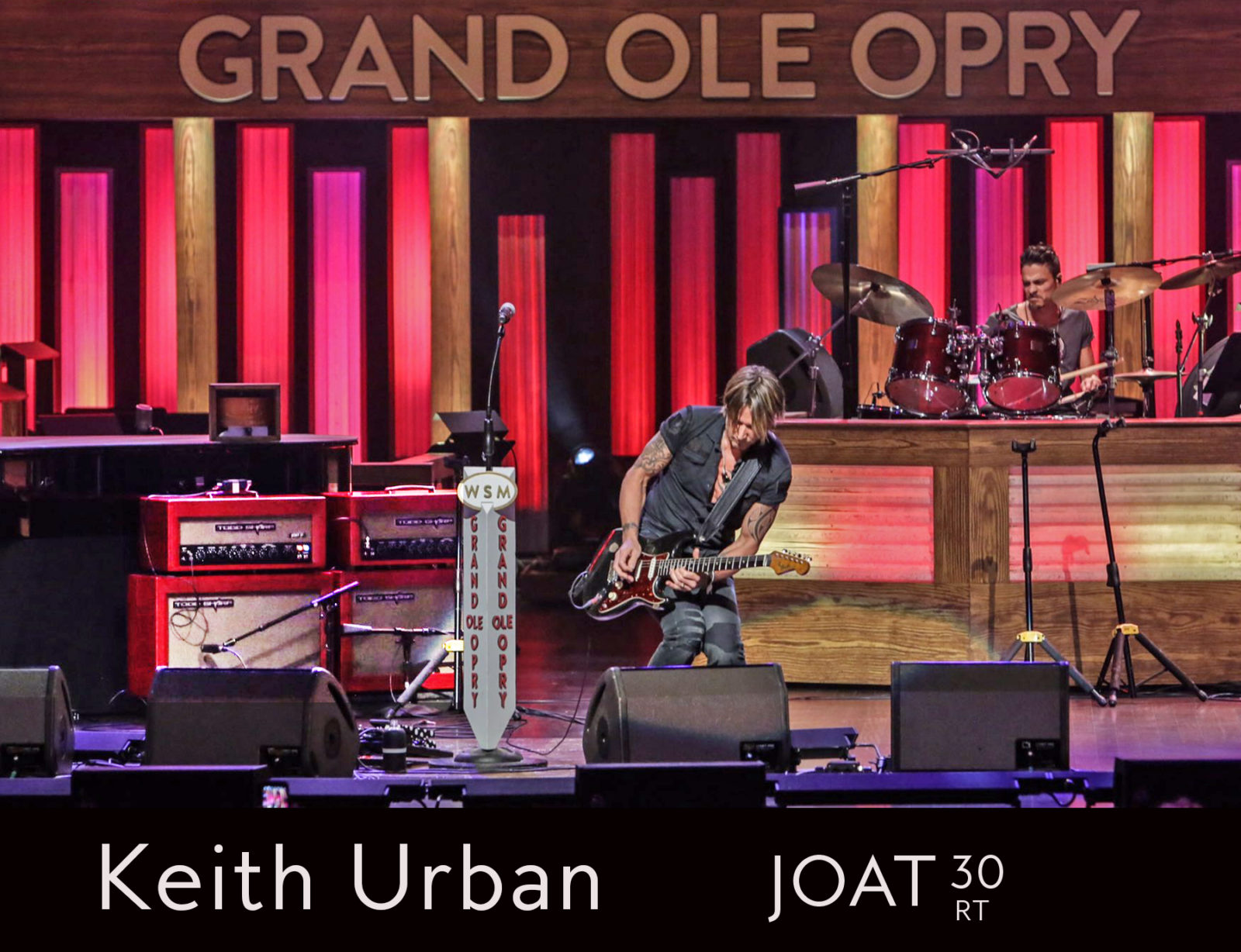 Keith Urban chooses JOAT 30RT's